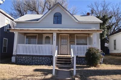 Guthrie Single Family Home For Sale: 710 N Broad