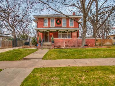 Oklahoma City Single Family Home For Sale: 1319 NW 20th