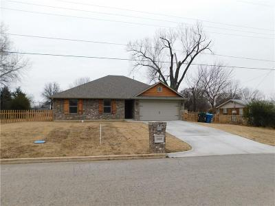 Midwest City OK Single Family Home For Sale: $169,900