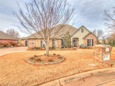 Choctaw Single Family Home For Sale: 2551 Cross Cut Lane