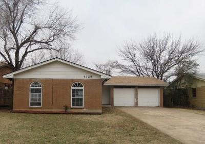 Midwest City Single Family Home For Sale: 4325 Meadowpark Drive