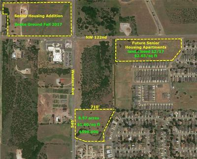 Oklahoma City Residential Lots & Land For Sale: 11800 N Western
