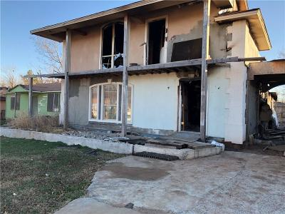 Oklahoma City OK Single Family Home For Sale: $16,000
