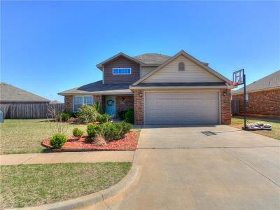 Piedmont OK Single Family Home For Sale: $184,000