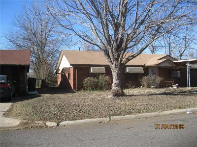 Midwest City Single Family Home For Sale: 1007 Bell Drive