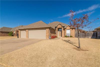 Moore Single Family Home For Sale: 709 Tasha Circle