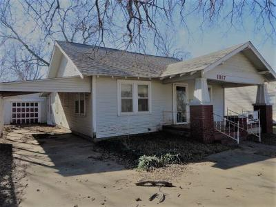 Chickasha Single Family Home For Sale: 1817 W Dakota Avenue