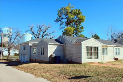 Chickasha Single Family Home For Sale: 1601 S 13th Street