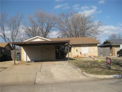 Del City Single Family Home For Sale: 4601 SE 38th Street