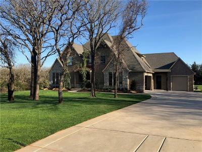 Lincoln County, Oklahoma County Single Family Home For Sale: 11601 Piazza Way