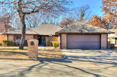 Midwest City Single Family Home For Sale: 213 N Tunbridge Road