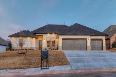 Edmond Single Family Home For Sale: 4708 Stampede Drive