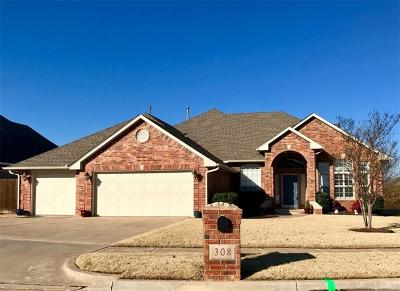 Norman Single Family Home For Sale: 308 Summit Way