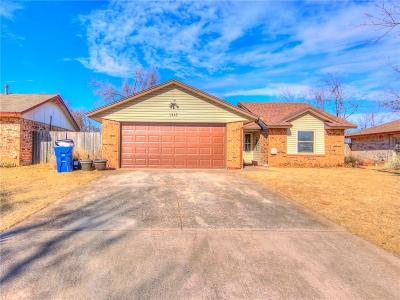 Mustang Single Family Home For Sale: 1113 W Griggs Way