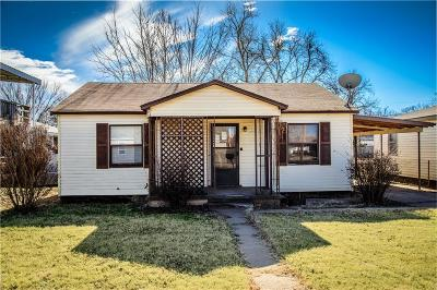 Elk City Single Family Home For Sale: 1210 W 7th Street