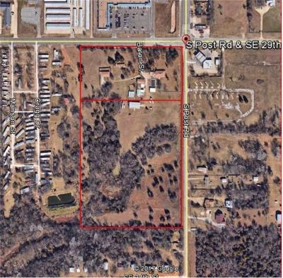 Oklahoma City Residential Lots & Land For Sale: 9912 SE 29th Street