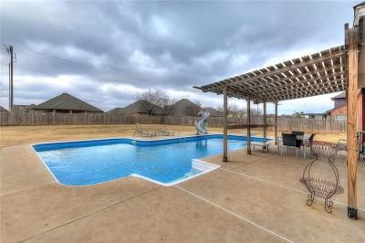Moore Single Family Home For Sale: 4109 Hidden Lake Circle