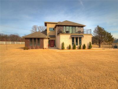Edmond Single Family Home For Sale: 7713 Stone Valley Circle