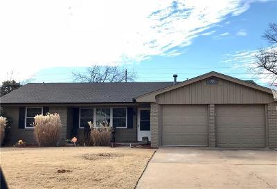 Elk City Single Family Home For Sale: 1606 W D Avenue