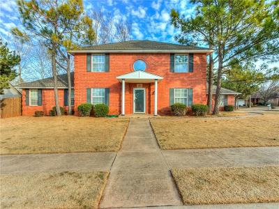 Edmond Single Family Home For Sale: 1208 Pine Forest
