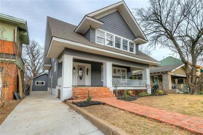Oklahoma City Single Family Home For Sale: 615 NW 18th Street