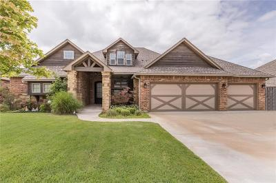 Edmond Single Family Home For Sale: 516 War Admiral