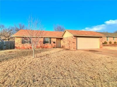 Guthrie Single Family Home For Sale: 1716 E Shady Creek Drive