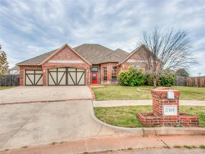 Edmond Single Family Home For Sale: 17109 Prestwick Circle