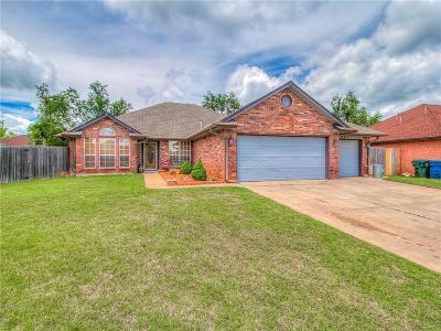 Midwest City Single Family Home For Sale: 901 Ruby Lane