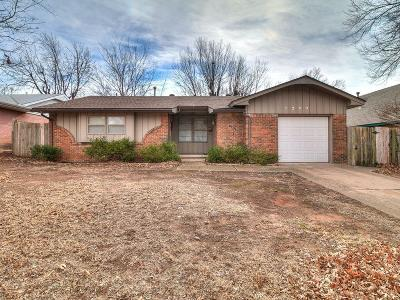 Midwest City Single Family Home For Sale: 1200 W Havenwood