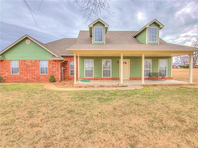 Tuttle Single Family Home For Sale: 2013 County Road 1213