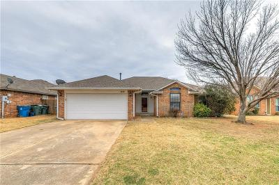 Edmond Single Family Home For Sale: 1816 Victoria Drive
