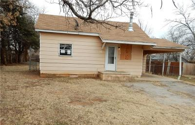 Midwest City Single Family Home For Sale: 116 Grandview