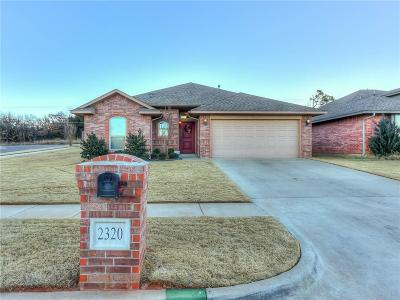 Midwest City OK Single Family Home For Sale: $159,900