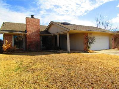 Oklahoma City OK Single Family Home For Sale: $130,000