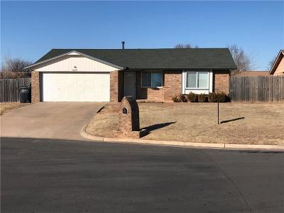 Oklahoma City Single Family Home For Sale: 1029 SW 99th Place