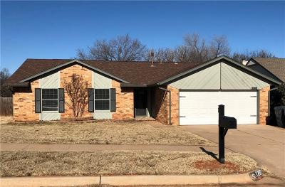 Edmond Single Family Home For Sale: 1209 NW 183rd Street
