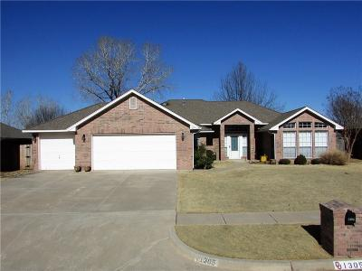 Norman OK Single Family Home For Sale: $169,900