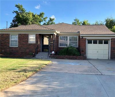 Oklahoma City OK Single Family Home For Sale: $129,000
