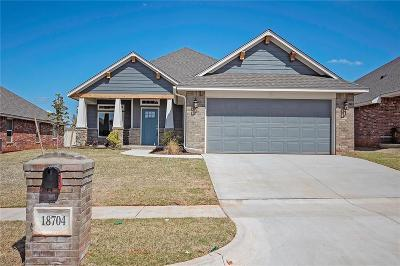 Edmond Single Family Home For Sale: 18704 Maidstone Lane