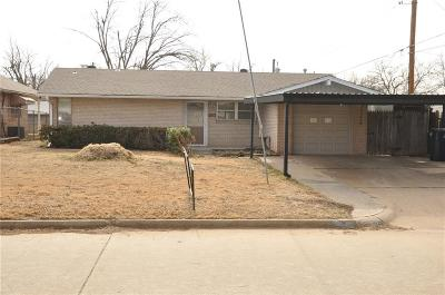 Oklahoma City OK Single Family Home For Sale: $139,888