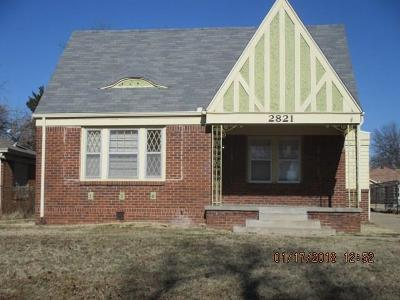 Oklahoma City Single Family Home For Sale: 2821 NW 17th Street
