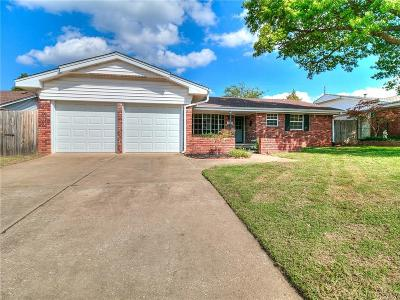 Midwest City Single Family Home For Sale: 3308 N Glenvalley Drive