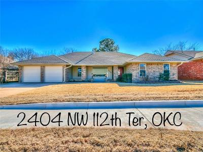 Oklahoma City Single Family Home For Sale: 2404 NW 112th Terrace