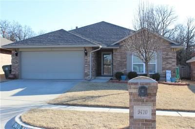 Midwest City Single Family Home For Sale: 9410 Peachtree Lane