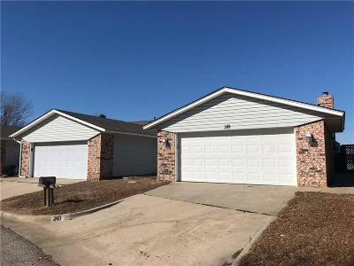 Oklahoma City Attached For Sale: 341 SW 92 Street #40569111