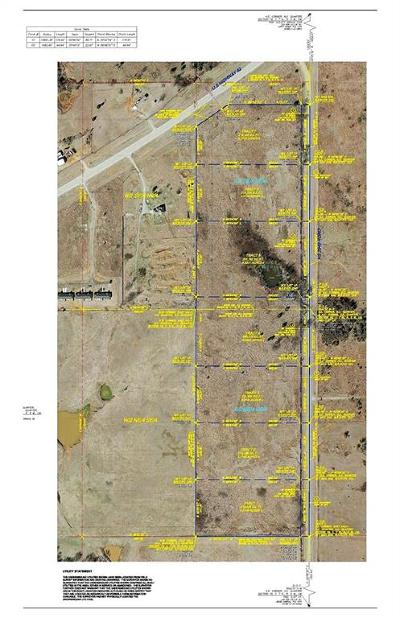 Blanchard Residential Lots & Land For Sale: Tract 1 -county Street 2940