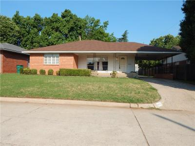 Oklahoma County Single Family Home For Sale: 4605 N Virginia Avenue