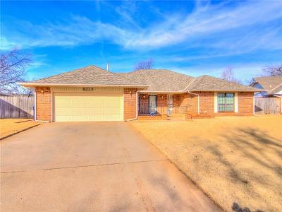 Oklahoma City Single Family Home For Sale: 8233 Canna Lane