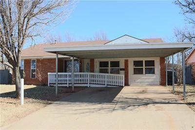 Oklahoma City Single Family Home For Sale: 2300 S Stonewall